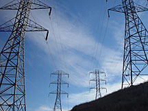 Power Towers in California